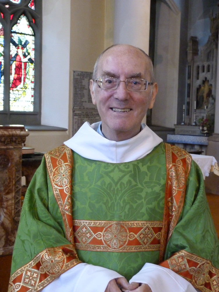 Rev Bill Wright - St Mary's Fleetwood
